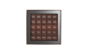 Шоколад PIERRE MARCOLINI, 25 PALETS FINS, ассорти - карамель, пралине, 100 гр_1