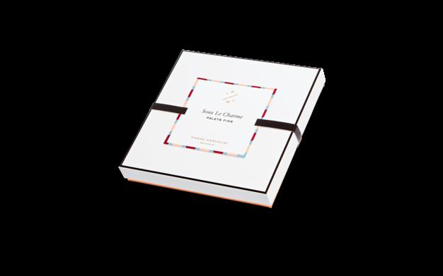 Шоколад PIERRE MARCOLINI, 25 PALETS FINS, ассорти - карамель, пралине, 100 гр