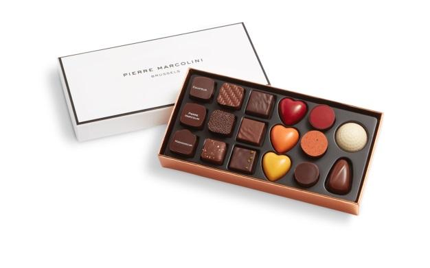 Шоколад PIERRE MARCOLINI, PLUMIER DECOUVERTE, ассорти, 115 гр