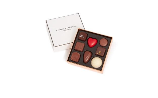 Шоколад PIERRE MARCOLINI, MINI MALLINE DECOUVERTE, ассорти, 46 гр