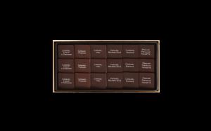 Шоколад PIERRE MARCOLINI, 8 PALETS FINS, ассорти - карамель, пралине, 72 гр_1