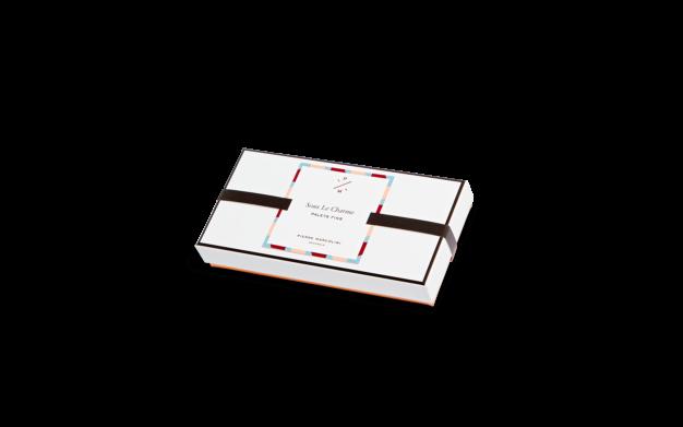 Шоколад PIERRE MARCOLINI, 8 PALETS FINS, ассорти - карамель, пралине, 72 гр
