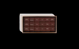 Шоколад PIERRE MARCOLINI, SAVEURS DU MONDE, ассорти - темный GRAND CRU, 72 гр_1