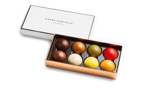 Шоколад PIERRE MARCOLINI, 8 MELOVE CAKES, ассорти, 96 гр