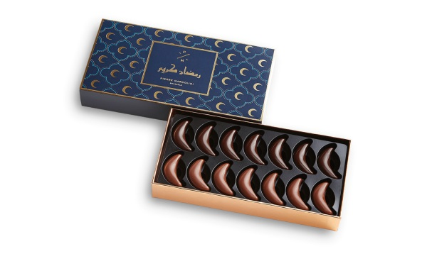 Шоколад PIERRE MARCOLINI, 14 MOONS, РАМАДАН, ассорти, 61 гр