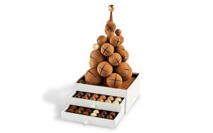 Шоколад PIERRE MARCOLINI, DARK CHRISTMAS TREE, ЕЛКА РОЖДЕСТВЕНСКАЯ с конфетами, 1450 гр