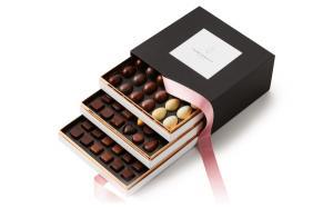 Шоколад PIERRE MARCOLINI, НАБОР 3 уровня - ассорти, 742г