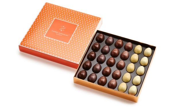 Шоколад PIERRE MARCOLINI, НАБОР 30 яиц - ассорти, 300г