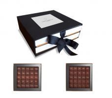 Шоколад PIERRE MARCOLINI в коробке ярусами, AROUND THE WORLD, два яруса, 200г