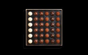 Шоколад PIERRE MARCOLINI в коробке ярусами, EMOTION, два яруса, 377г_2