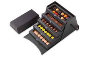 Шоколад PIERRE MARCOLINI в коробке ярусами, НАБОР 5 уровней - ассорти - 91 конфета,  540г