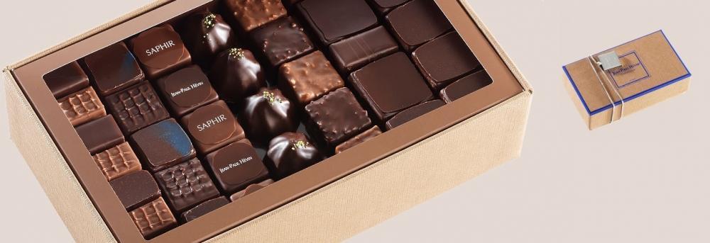 Шоколад JEAN-PAUL HEVIN, НАБОР № 3 - ассорти, 1000г