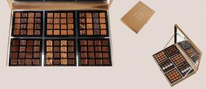 Шоколад JEAN-PAUL HEVIN, НАБОР № 5 - ассорти, 840г