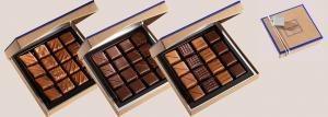 Шоколад JEAN-PAUL HEVIN, НАБОР № 6 - ассорти, 140г