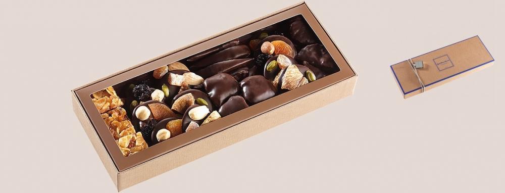 Шоколад JEAN-PAUL HEVIN, НАБОР № 7 - ассорти, 140г