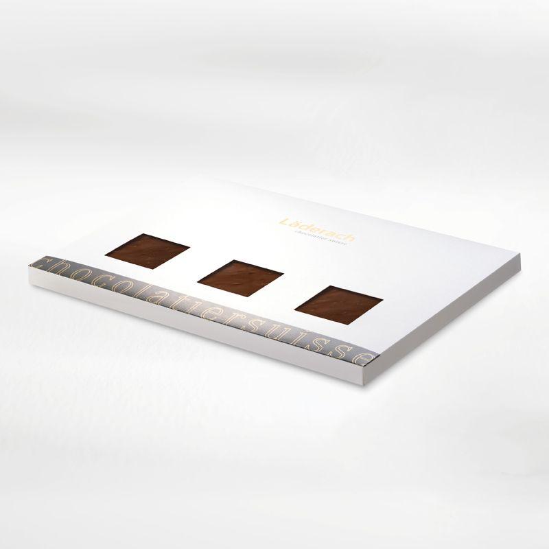 Шоколад темный в коробке (с ежевикой) LADERACH, 700г