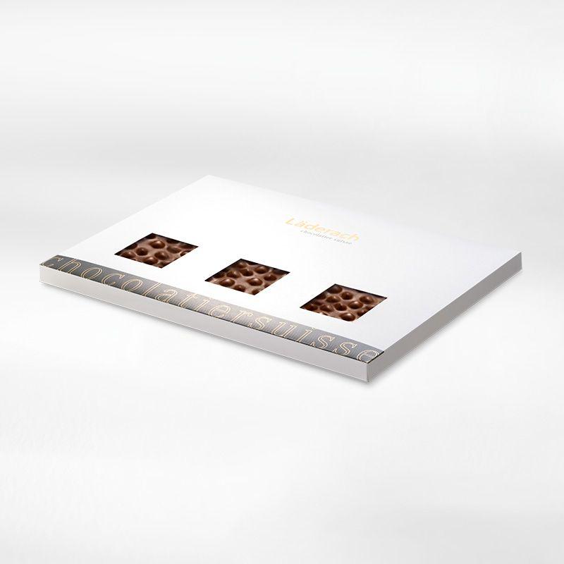 Шоколад темный в коробке (фундук) LADERACH, 950г