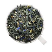 Зеленый чай с имбирем №2