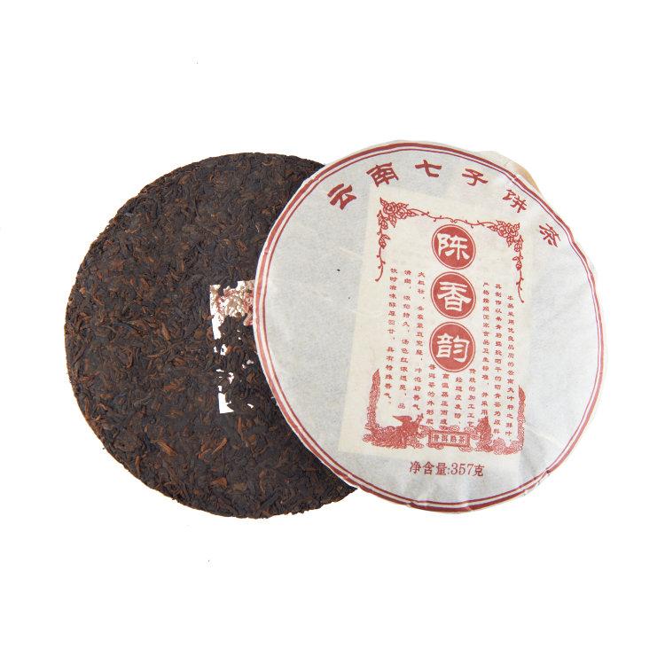 Шу Пуэр блин Чен Сян (Древний аромат) (фаб. Да Вэй) 2015г, 357г