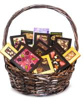 Подарочная корзина шоколада, конфет Chokodelika Круглая №1