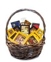 Подарочная корзина шоколада, конфет Chokodelika Круглая №2, 750г