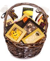 Подарочная корзина шоколада, конфет Chokodelika Круглая №3