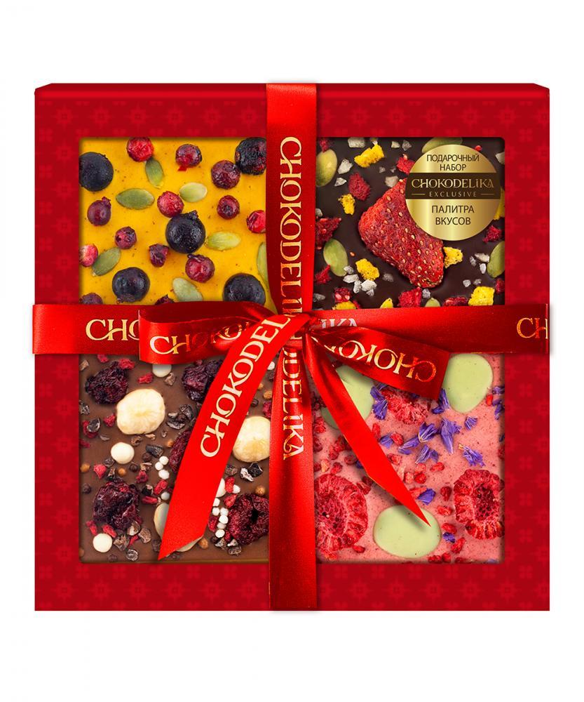 Подарочный набор Палитра вкусов, 140 г, в коробке