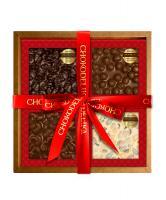 Подарочный набор Орехово - шоколадный квартет, 320 г, в коробке