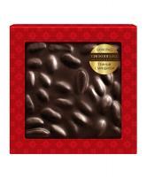 Шоколад темный с миндалем, 80 гр, блистер