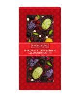 Шоколад темный с украшением Драгоценности, 100 гр, в блистере