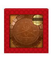 Молочный шоколад Командирские часы, 40 гр,  в блистере