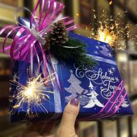 Подарок Новогодний узор