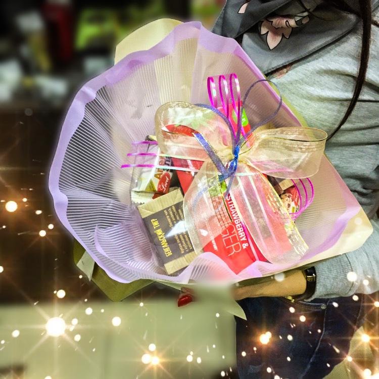 Чайный новогодний букет Золушка
