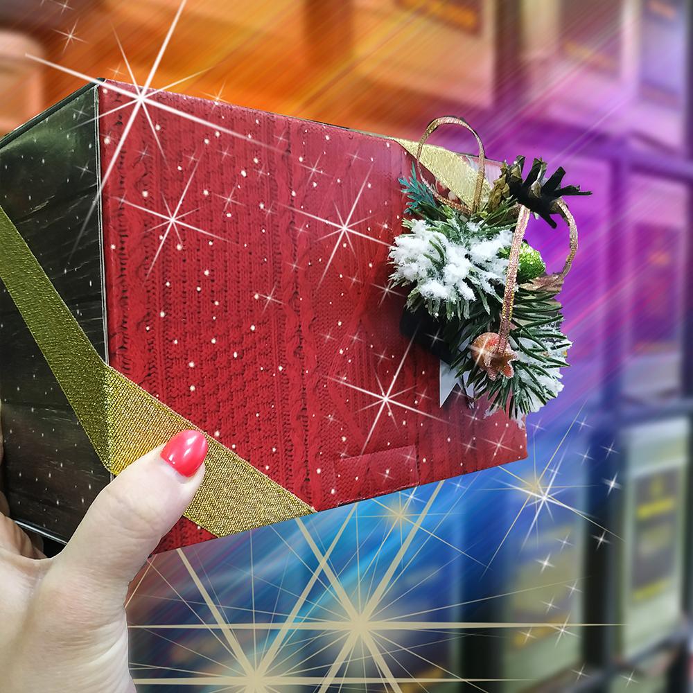 Подарок новогодний Красный бархат