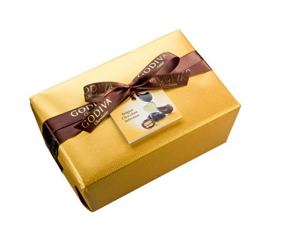 Шоколад GODIVA, Баллотин золотой - ассорти, 500г