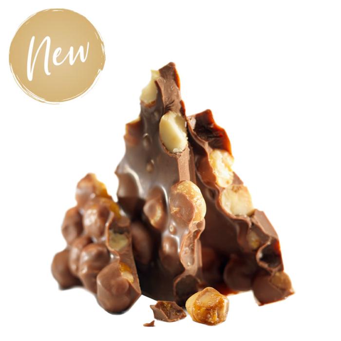Шоколад молочный (орехи макадамии) LADERACH, 100г
