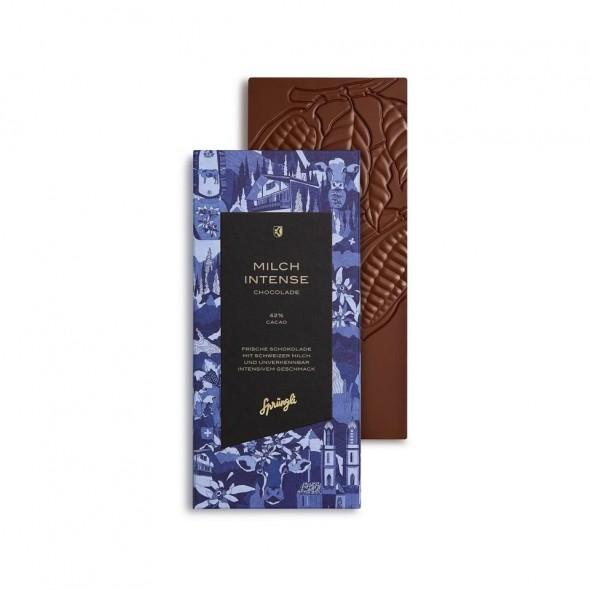 Шоколад молочный 42% SPRUNGLI, 100 гр