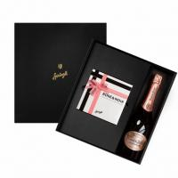 Набор трюфели Rose&Noir, Perrier-Jouet Blason Rose шампанское, SPRUNGLI, 930 гр