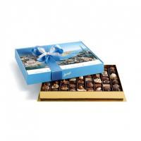 Шоколадные конфеты пралине, трюфели Bonbonniere Zurich 70шт SPRUNGLI, 830гр