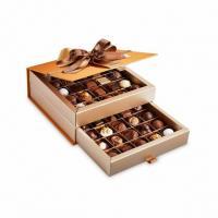 Шоколадные конфеты пралине, трюфели Bonbonniere Surprise Orange 50шт SPRUNGLI, 590гр