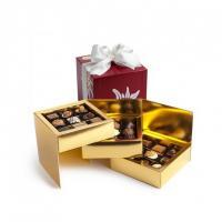 Шоколадные конфеты пралине, трюфели Edelweiss Cube 27шт SPRUNGLI, 340гр