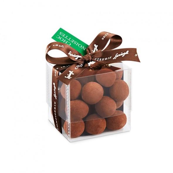 Фундук в темном шоколаде и какао Choc-Noisettes SPRUNGLI, 170гр