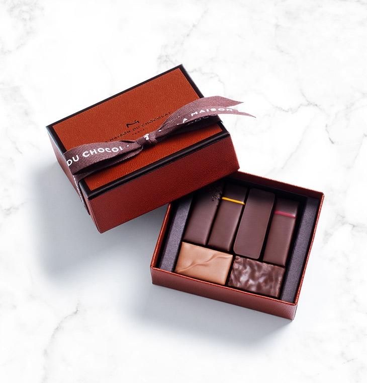 Шоколадные конфеты пралине, ганаш Gesture Gift Box 6шт LA MAISON, 42гр
