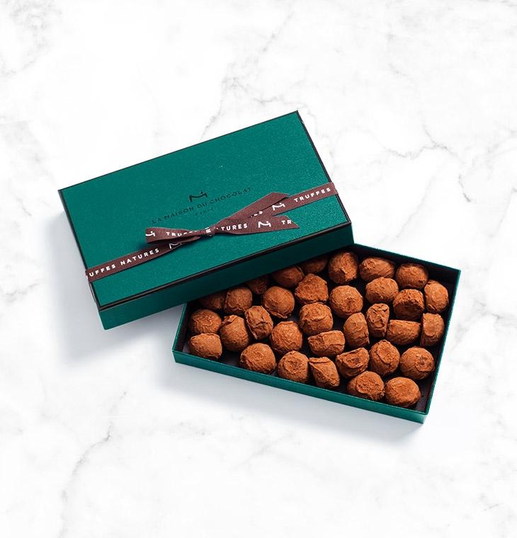 Шоколадные конфеты трюфели Plain Truffles 35шт LA MAISON, 245гр