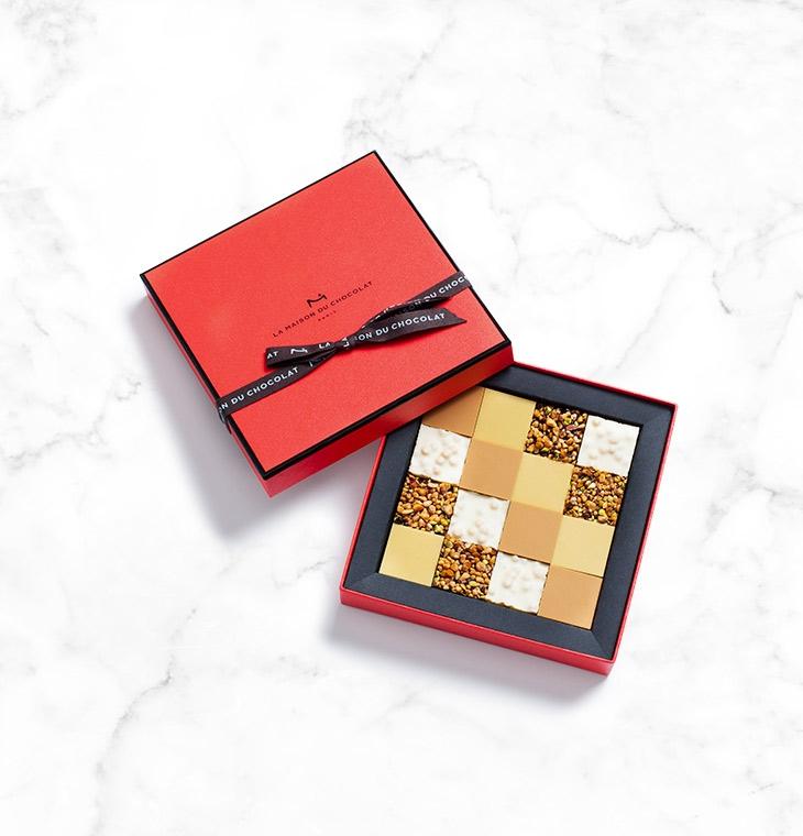 Шоколад Bars Gift Box 16шт LA MAISON, 124гр