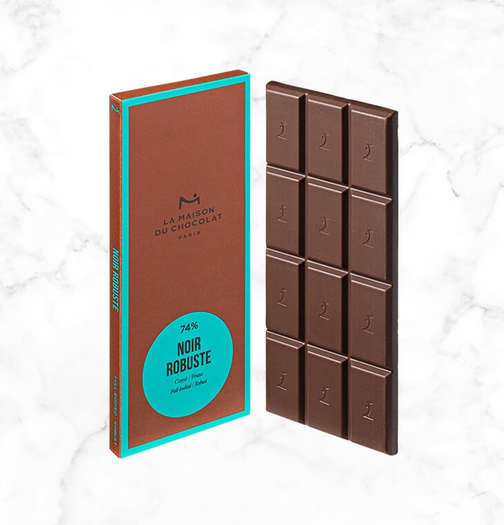 Шоколад Noir Robuste 74% LA MAISON, 75гр