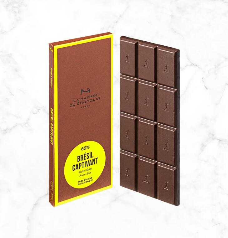 Шоколад Bresil Captivant 65% LA MAISON, 75гр