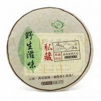 """Шу Пуэр """"Дикий вкус"""", фабрика Жень Гуань, Юньнань Мэнхай, 2015 г, блин, 357г"""