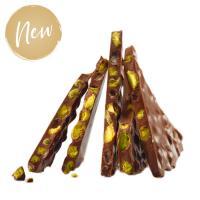 Шоколад темный (фисташка) LADERACH, 100г