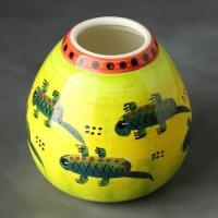 Калабас ящерицы, керамика, 250мл_1